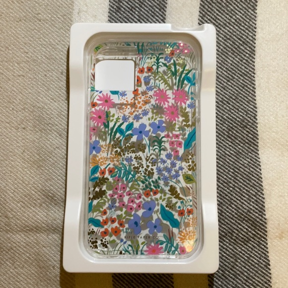 NWOT: Rifle Paper Co. Floral iPhone 11/11XR case
